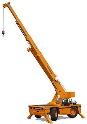 Deck Crane 15 Ton